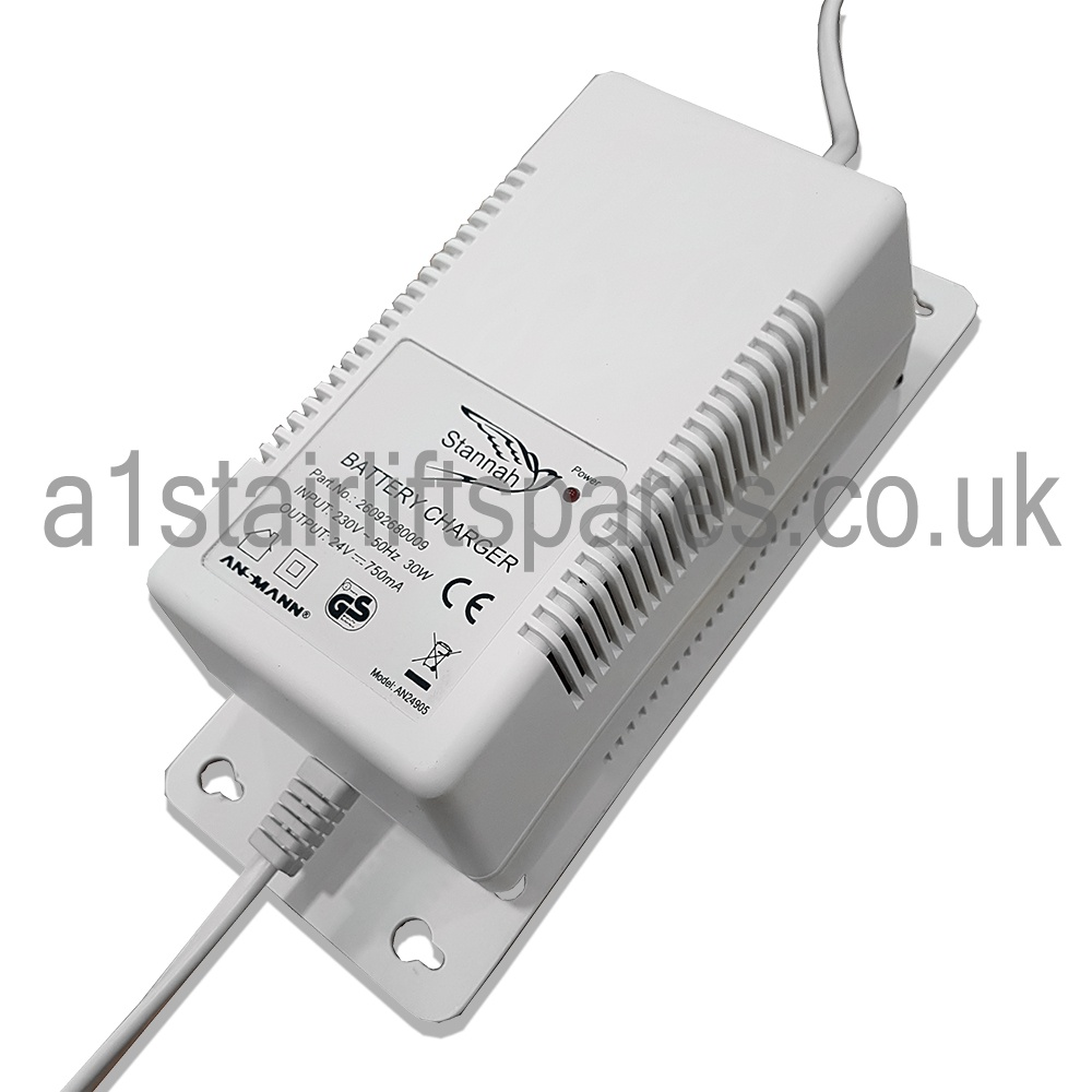 Stannah Stairlift charger power supply 24V - A1 Stairlift Spares