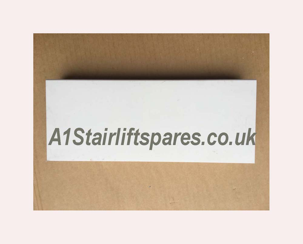Acorn 180 Curved track straight piece 500mm
